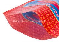 Poultry PP Woven Polypropylene Feed Bags Custom Size 50kg Recyclable Moisture Proof