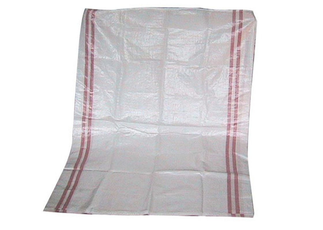 Waterproof Recycled Woven Polyethylene Bags , Fertilizer Packaging Bags 25KG / 50KG