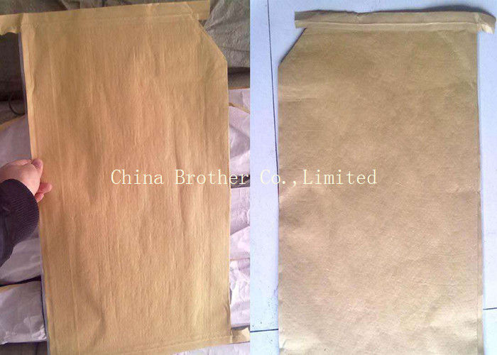 Laminated Valve Sealed Bags , PP Valve Bag Sacks For Packing Chemicals