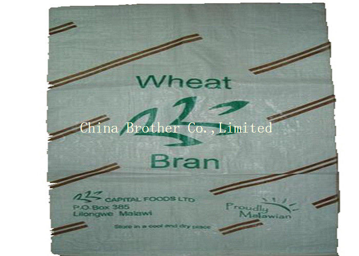 Durable PP Woven Sack Bags Customized Size With Dimensional Stability